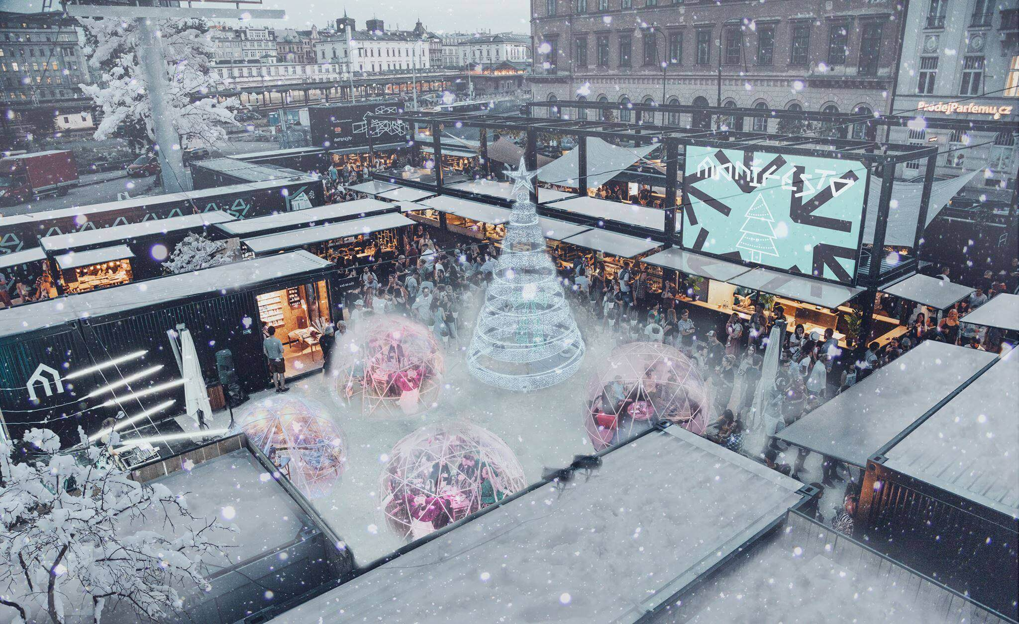 Manifesto Winter Market Opening: Florenc, 20/11