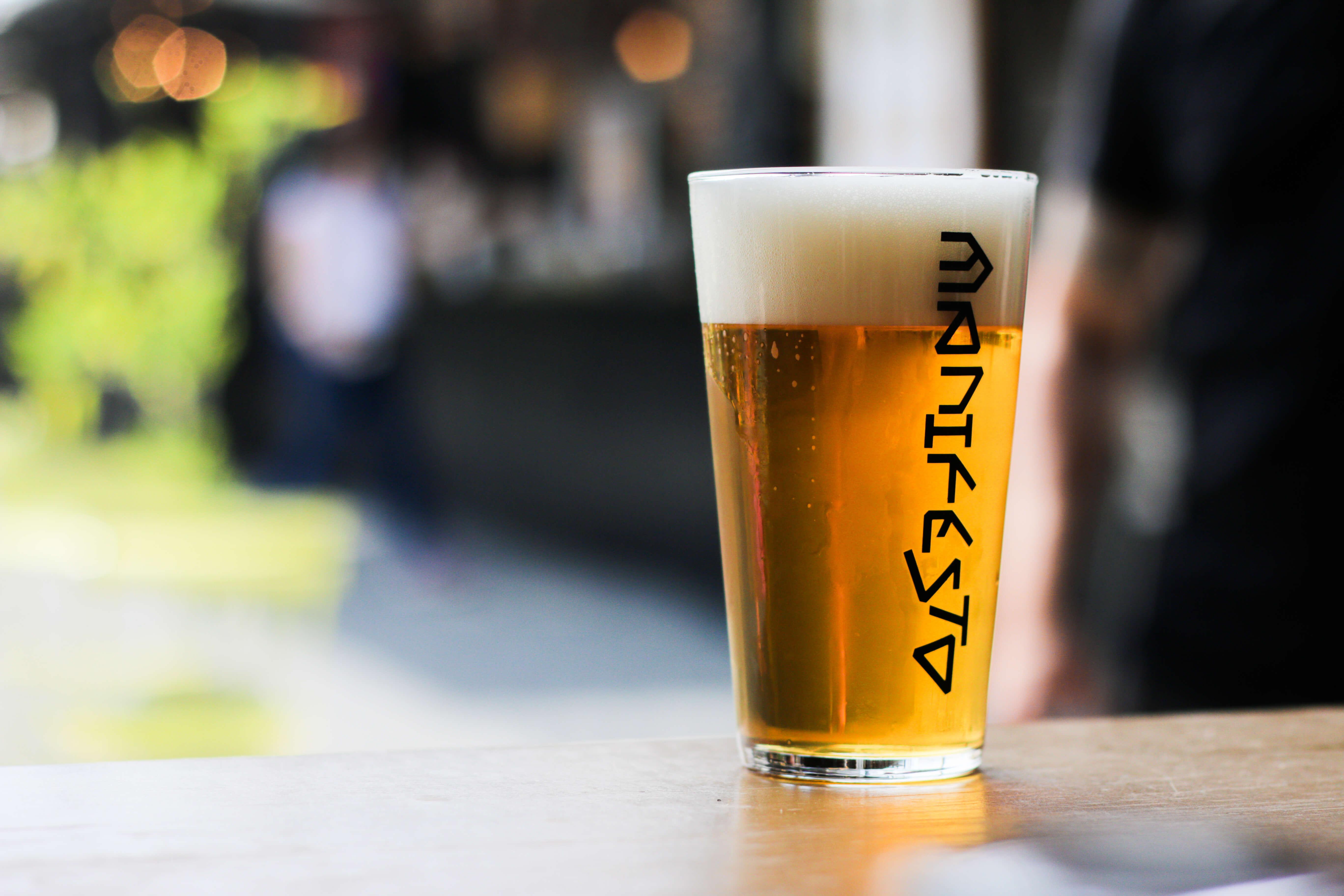 Freshly <br> tapped beer!