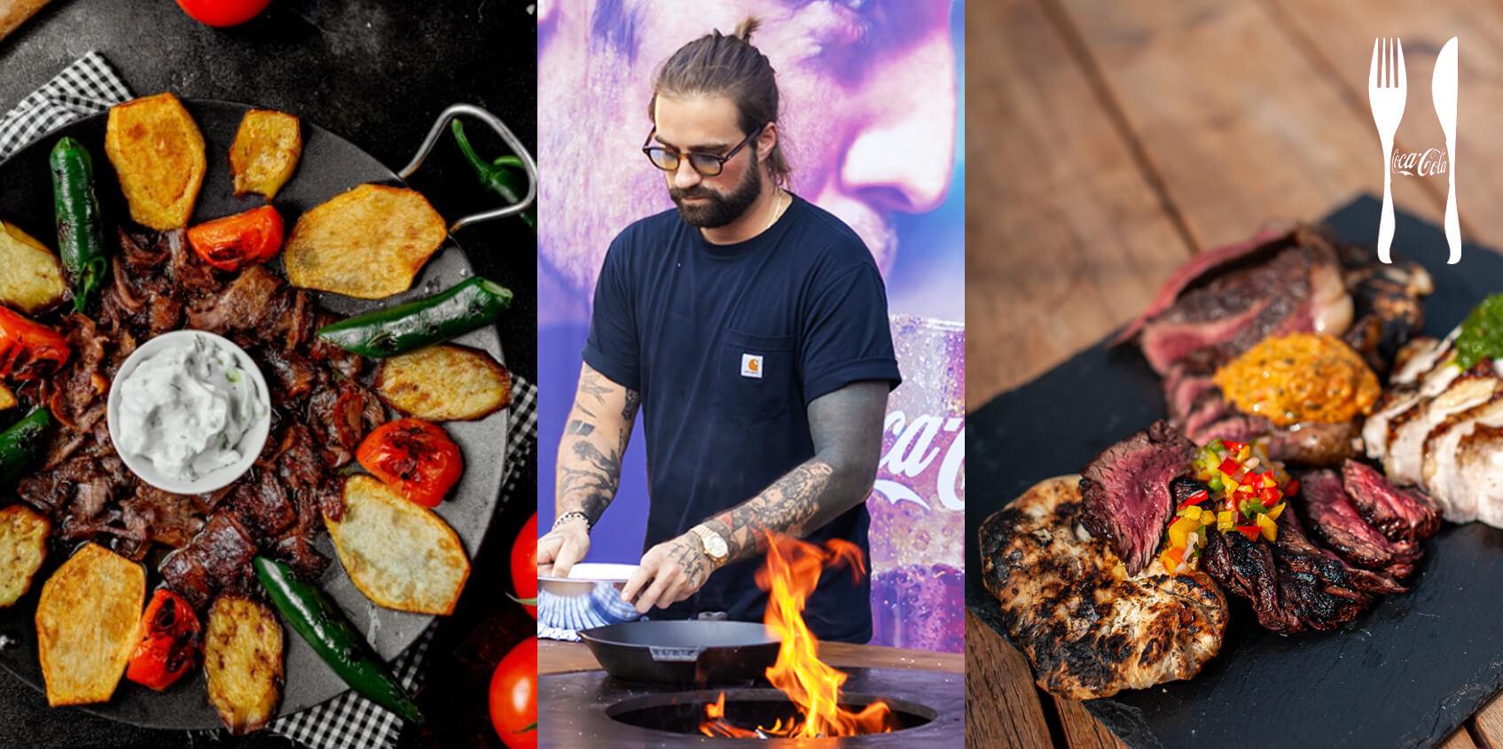 Coca-Cola Garden BBQ s Markem Pavalou a šéfkuchařem Ali: Kavkazská kuchyně